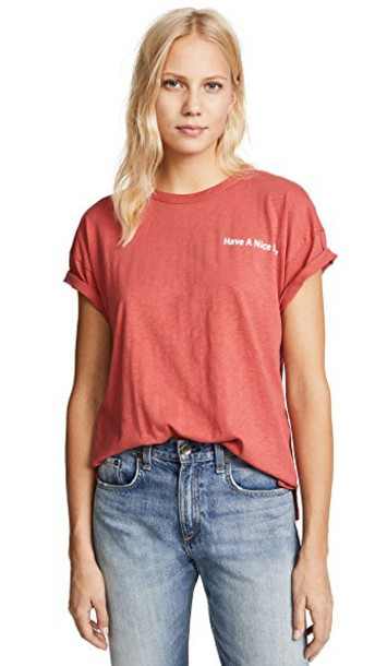 Rag & Bone/JEAN nice red top