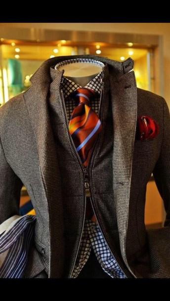 coat pea coat menswear grey mens jacket preppy jacket blazer dressy style fancy gentlemen men's style. mens