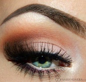 make-up,smokey eyes
