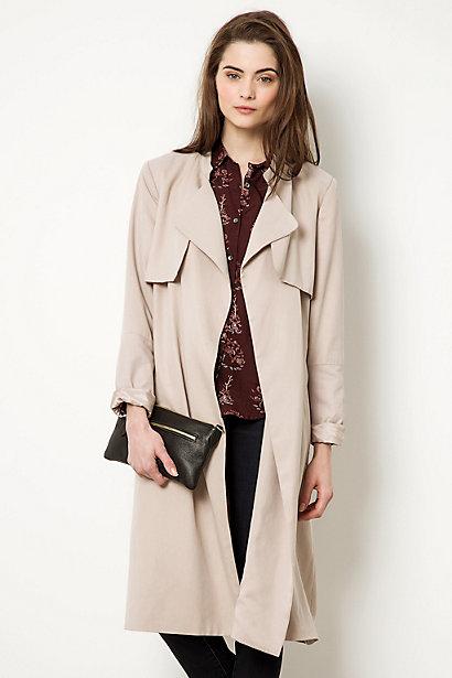 selected femme belle trench coat. Black Bedroom Furniture Sets. Home Design Ideas