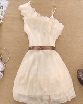 dress,summer,white,white dress,flowers,off the shoulder
