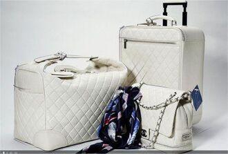 bag chanel chanel bag white chanel white coco chanel white coco chanel bags coco chanel chanel travel bag