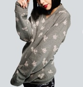sweater,the simpsons,itchy and scratchy,drop dead clothing