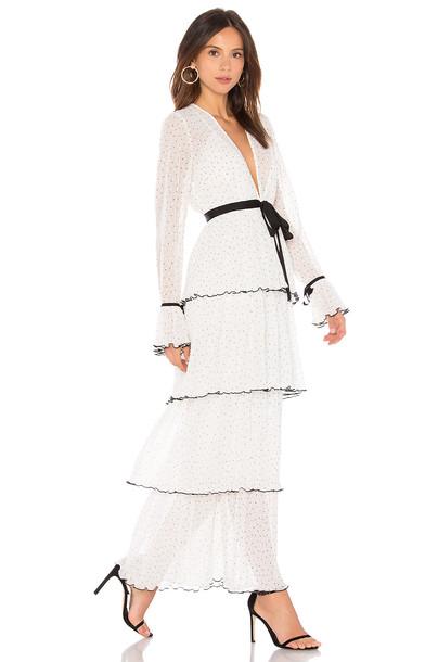 Alice McCall dress white