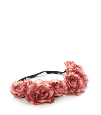 Pink Oversized Flower Hair Garland