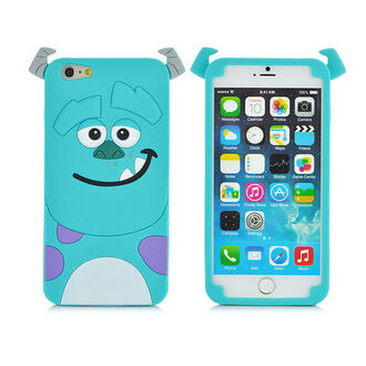 phone cover cute blue monster alien kawaii purple tumblr smile iphone 6 case girly original cardigan coat dress monsters inc