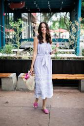 dress,summer dress,shoes,slide shoes,bag