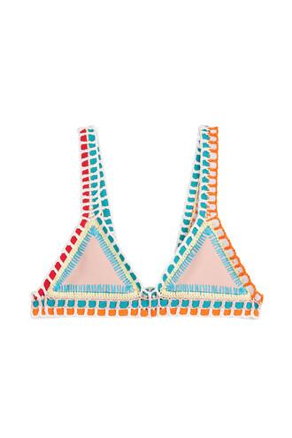 bikini bikini top multicolor swimwear
