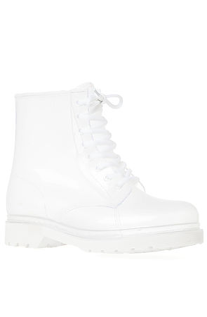 Zigi Shoes The See Thru Boot in Clear White : Karmaloop.com - Global Concrete Culture