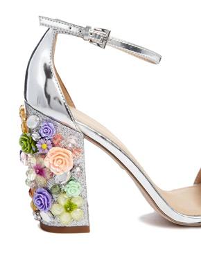 ASOS | ASOS SALON SHOWSTOPPER Heeled Sandals at ASOS