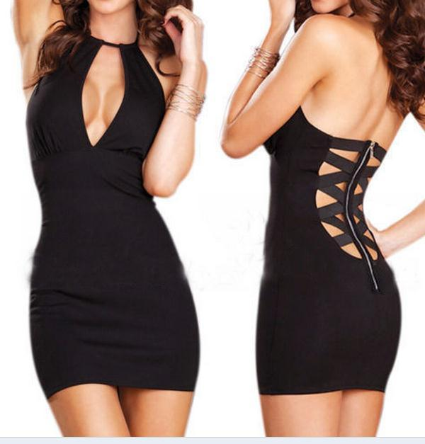 Cute sexy show body dress / ianlaynedesigns
