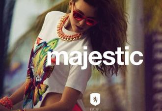 sunglasses red mirrored sunglasses shirt