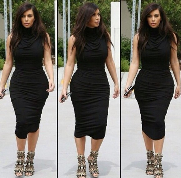 dress kim kardashian black dresses