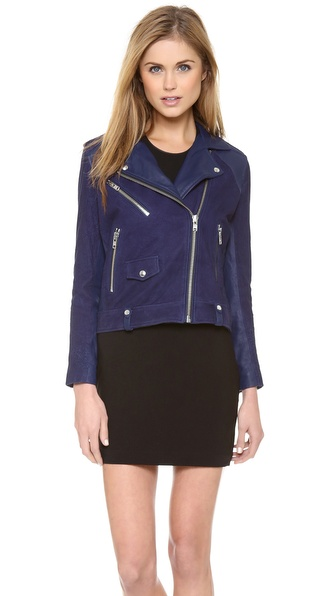 IRO Adila Leather Moto Jacket | SHOPBOP