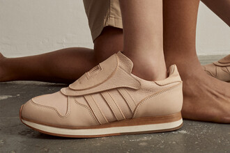 shoes hender scheme x adidas micro pacer sneakers nude sneakers adidas adidas shoes low top sneakers