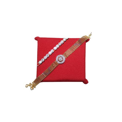 Rakhi of set 2 Elegant Bracelet Rakhi