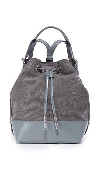 backpack grey bag