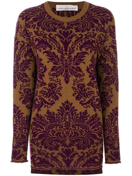 GOLDEN GOOSE DELUXE BRAND sweater women purple pink