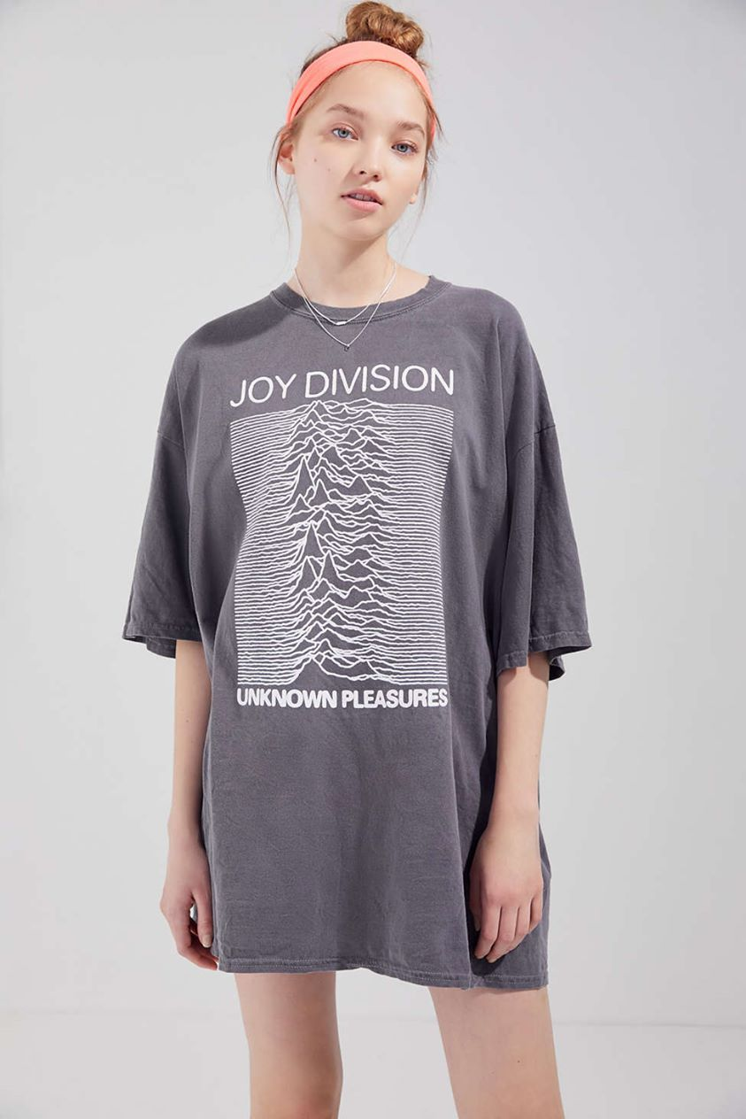 Joy Division Unknown Pleasures T-Shirt Dress