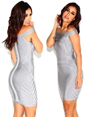 dress,dream it wear it,clothes,grey,grey dress,off the shoulder,off the shoulder dress,bandage,bandage dres,bandage dress,bodycon,bodycon dress,elegant,elegant d ress,elegant dress,mesh,mesh insert,sexy,sexy dress,bardot,bardot dress,bardot dresses,party,party dress,free shipping,cocktail,cocktail dress,summer,summer dress,summer outfits,girly,romantic summer dress,pool party