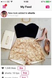 shorts,shoes,crop tops,underwear,$100.00,top