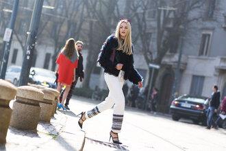 cheyenne meets chanel shoes sunglasses bag