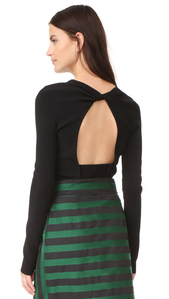 Rochas sweater long black