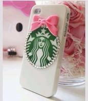 jewels,phone cover,starbucks coffee