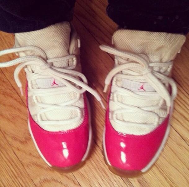 shoes pink nike jordans retros