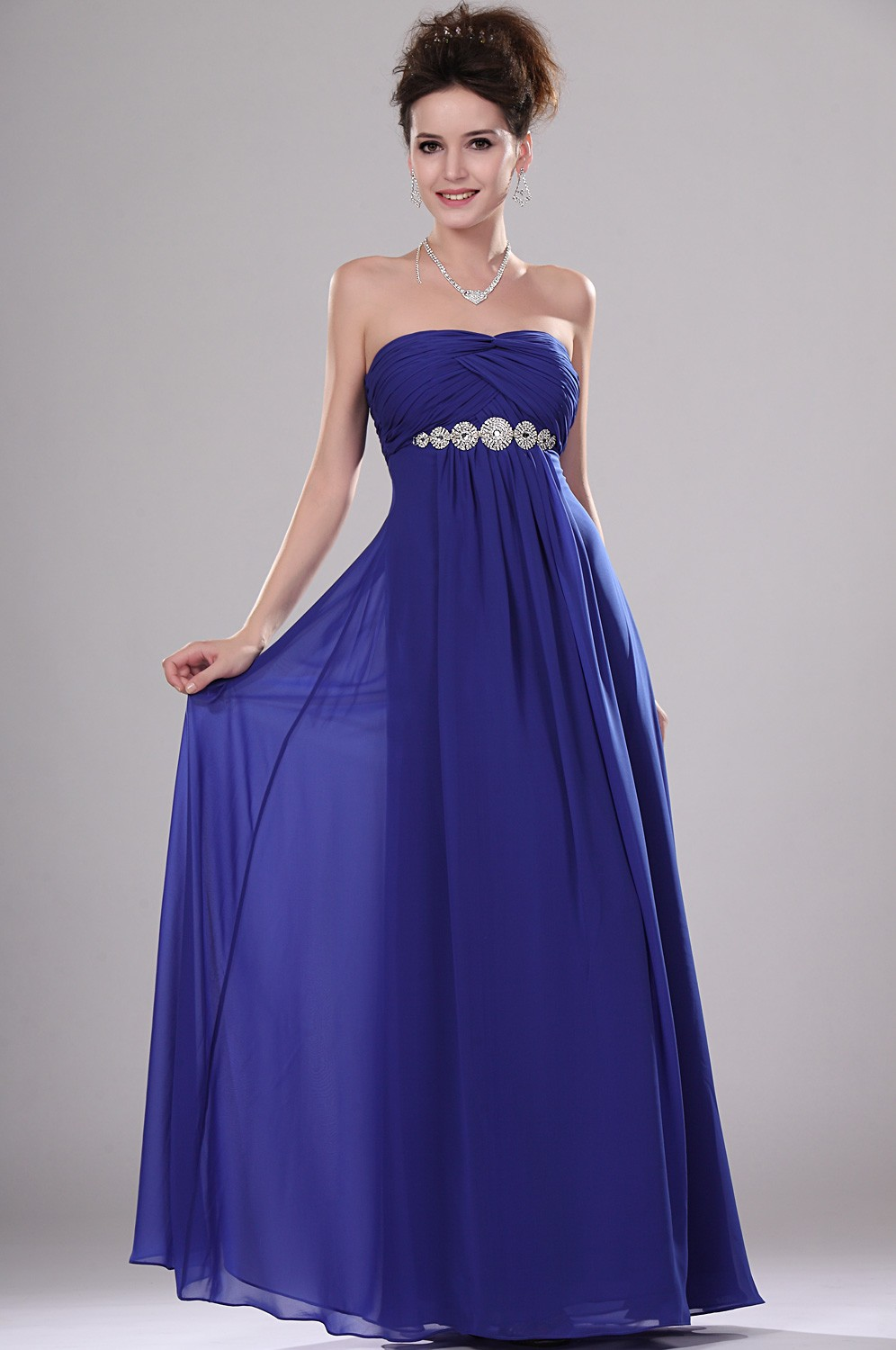 Evening dresses blue