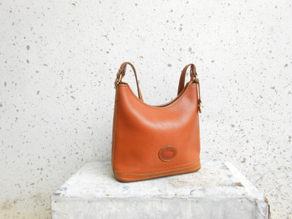 Vinatage DOONEY and BOURKE Brown Leather Shoulder by VindicoShop
