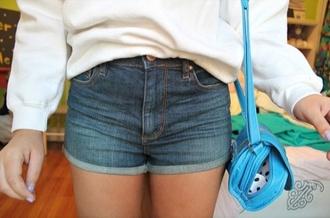 bag blue purse crossbody bag sky blue straps