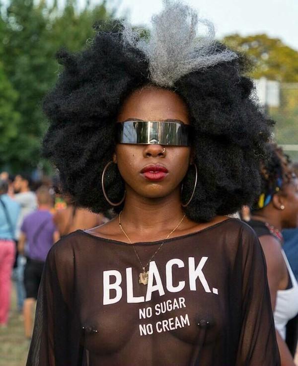 11d0d3fee Black No Sugar No Cream T-shirt - StyleCotton