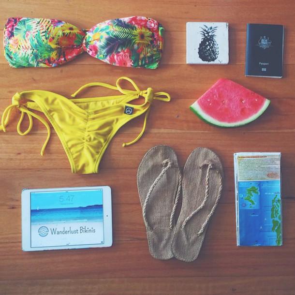 swimwear bikini separates bikini bikini top bikini bottoms bikini's brazilian bikini brazilian bikini bottom brazilian bikini top brazilian bikini scrunch bottom bikini style scrunchbum travel tropical tropical swimwear yellow swimwear