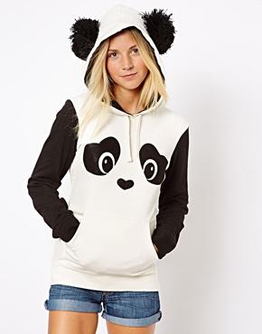 New Look | New Look Panda Hoodie at ASOS