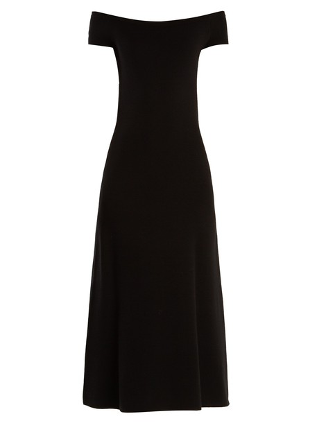 Gabriela Hearst dress wool black