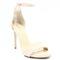 Tymoteo 2613 beżowe- eleganckie sandały, skóra