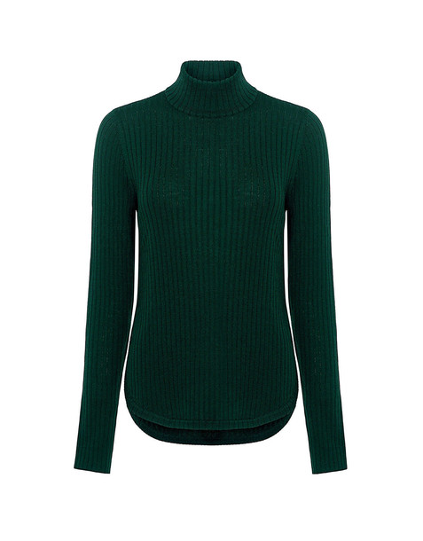A.L.C. sweater high high neck forest