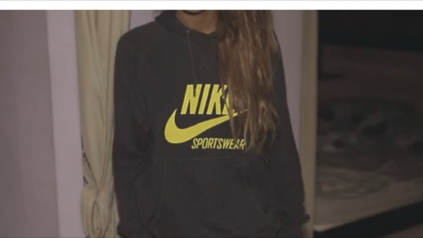 sweater sportswear nike pullover grey hoodie