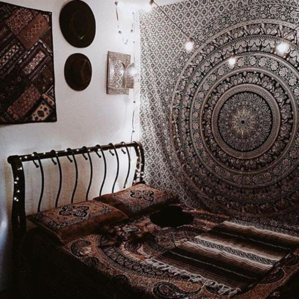Home accessory indie indian indie boho tapestry dorm tapestry