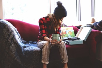 flannel shirt blogger lumberjack to bruck ave scarf pom pom beanie pants sparkly black friday cyber monday