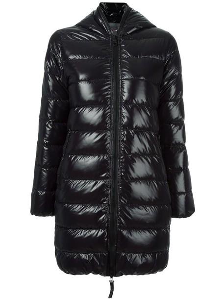 Duvetica coat women black