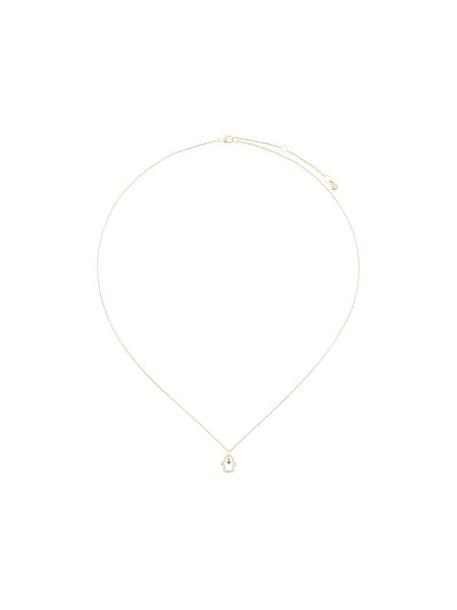 Astley Clarke women necklace pendant gold yellow orange jewels