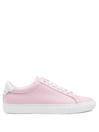 top street urban leather pink