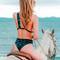 Revel rey slicks girlfriend one piece - def leopard