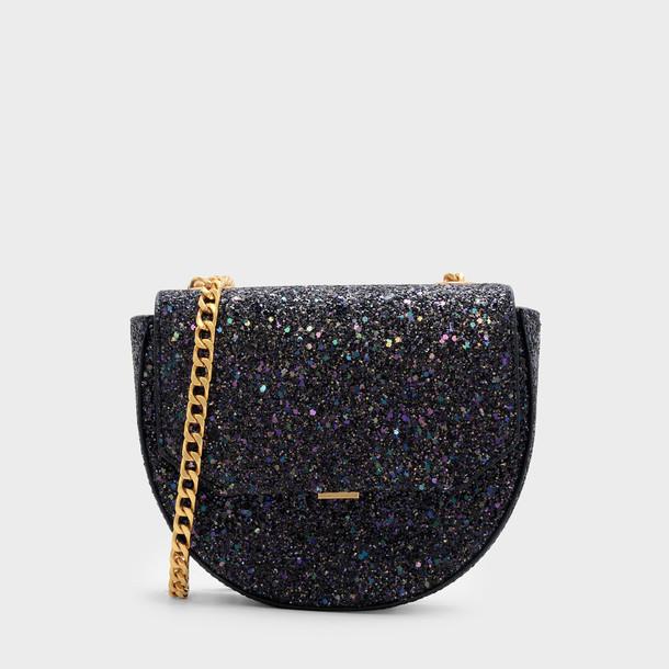 moon bag crossbody bag black