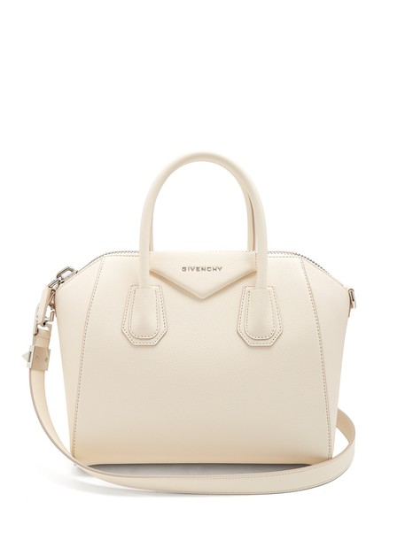 Givenchy bag leather bag leather cream