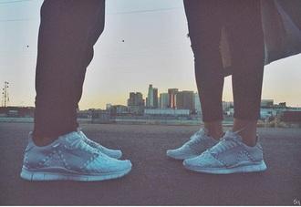 shoes nike sneakers grey low top sneakers