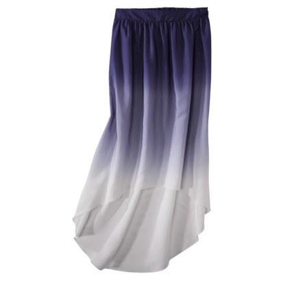 Mossimo® Women's Ombre High-Low Maxi Skirt -... : Target