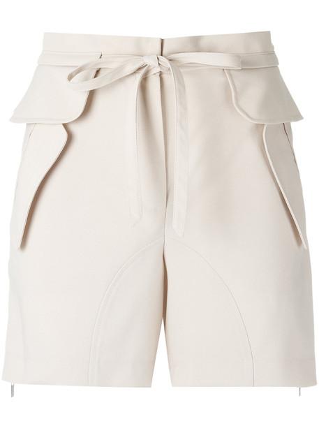 Olympiah drawstring shorts - Nude & Neutrals